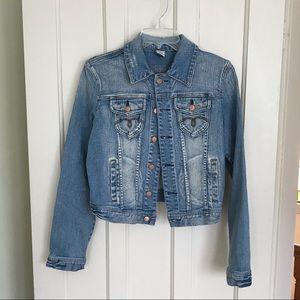 American Rag Jean Jacket   Juniors Size Large